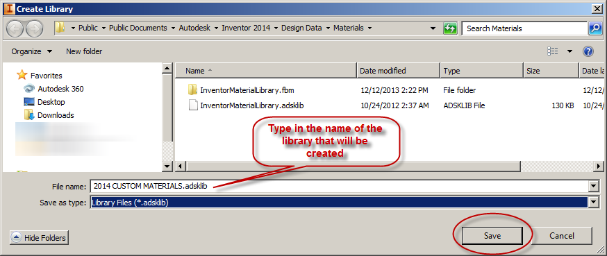 Migrate Materials and Colors to Inventor 2013-2014 - IMAGINiT