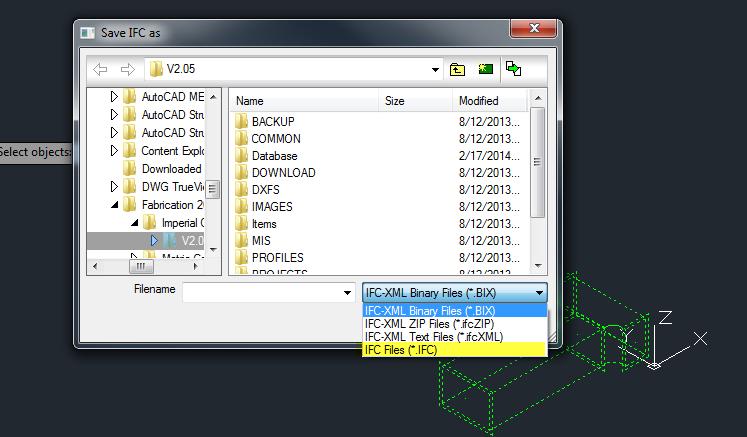 IFC File Type