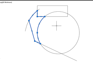 AutoCAD How Can You Create a Shape using a Polyline without Tracing 4
