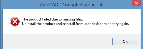 Corrupted preinstall