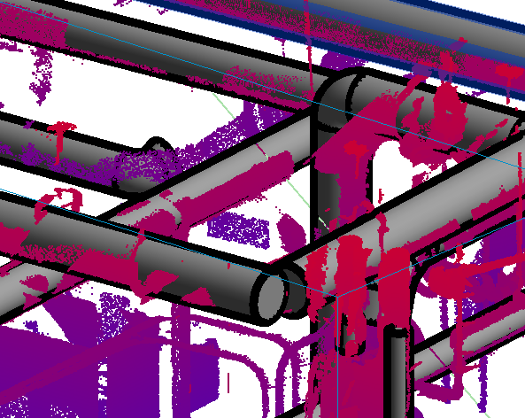 scan to bim adjust revit pipes for joining after model conversion imaginit building solutions blog