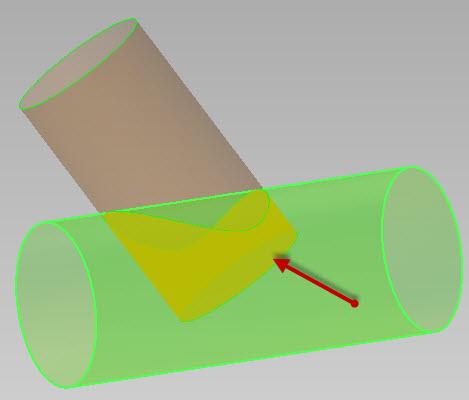 Sheet Metal Intersection Development In Inventor