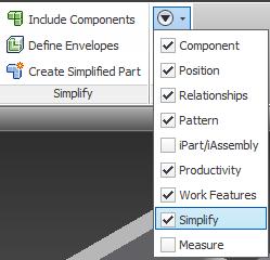 BIM Simplify 2015 Assembly Panel