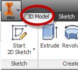 3D Model Tab 2015