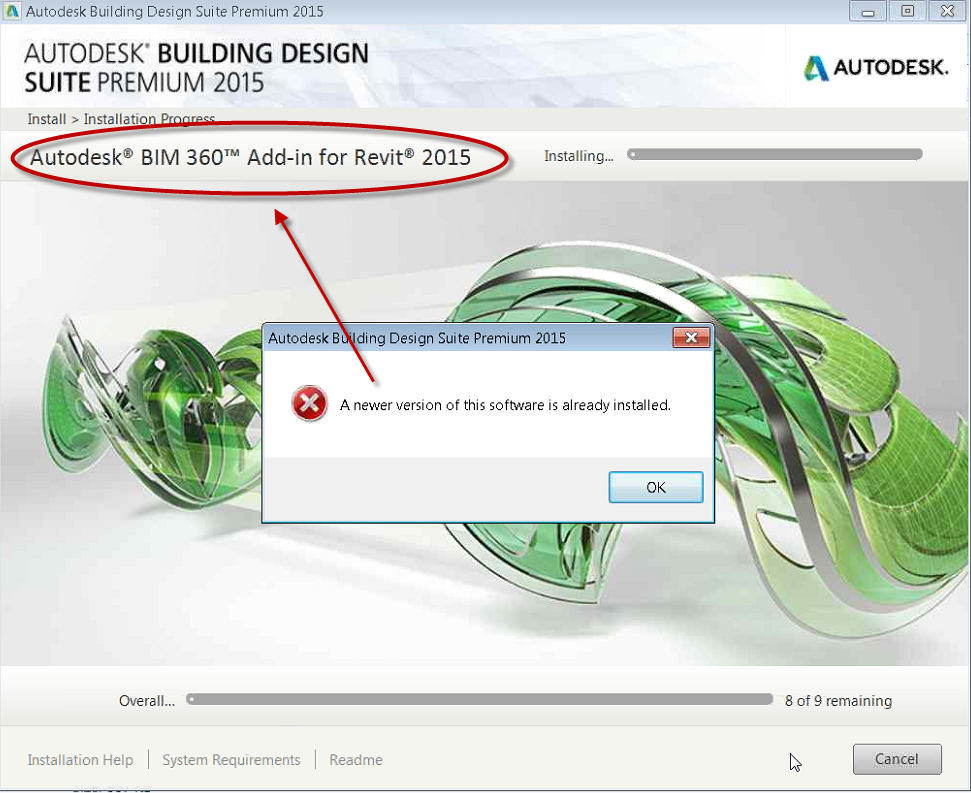 Autodesk Installation A Newer Version Of This Software Is Already Installed Imaginit Technologies Support Blog