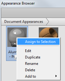 Assign to Selection
