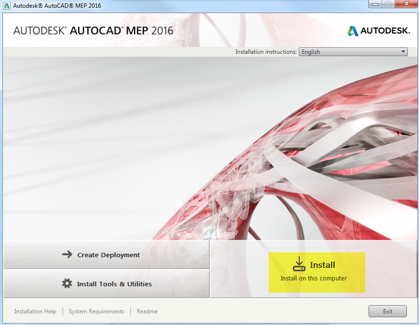 download autocad 2019 english