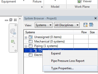 Creating a new Pipe System Type - IMAGINiT Building Solutions Blog