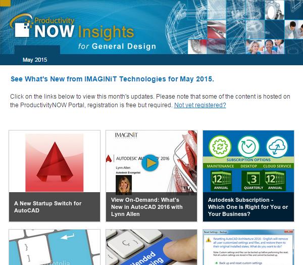 ProductivityNOW Insights - May 2015