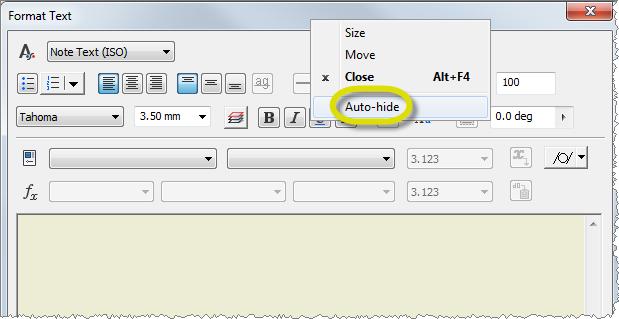 Text Auto Hide2