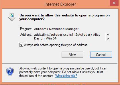 Allow Autodesk