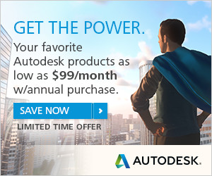 Save on Autodesk Desktop Subscription