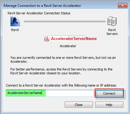 Clarity: Client Settings for Revit Server File Access
