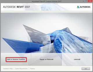 Revit 2017 templates, families and libraries needs to update