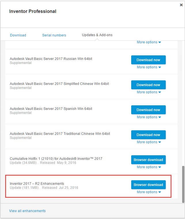 Autodesk Inventor 2017 R2 Subscription Release - IMAGINiT