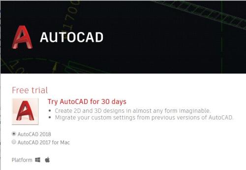 IntroducingAutoCAD2018-FreeTrial