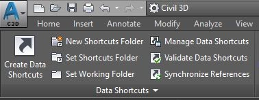 Data shortcut pallet