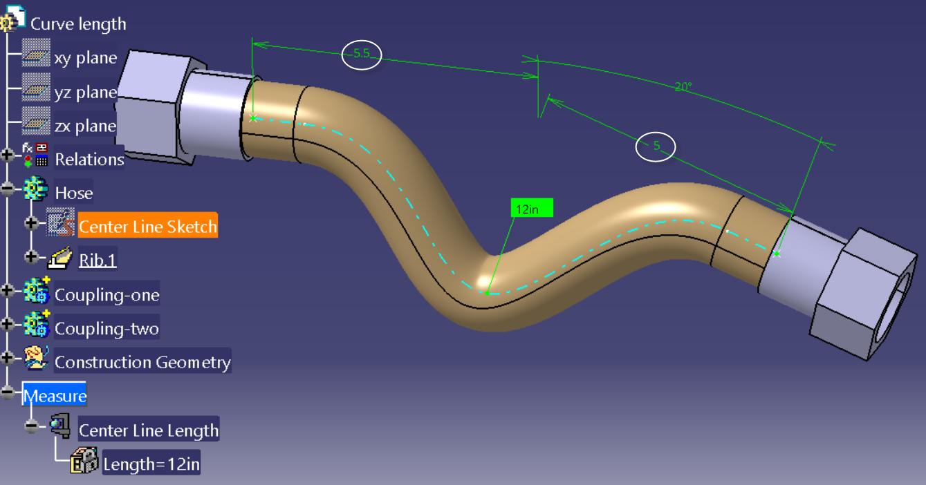 CATIA V5 Tip: How to control the length of a curve in a