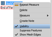 Mesh Feature-Right-click