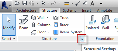 Revit Structure Settings for Boundary Conditions - IMAGINiT