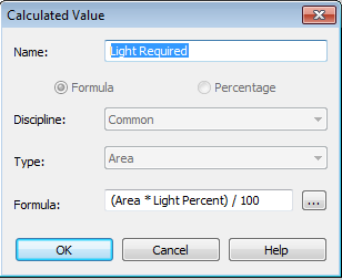 Calc Parameters