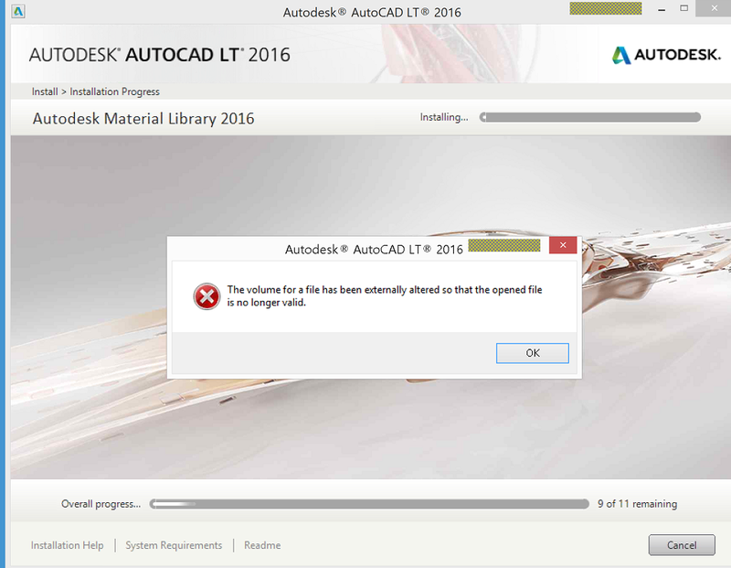 Install on surface pro error
