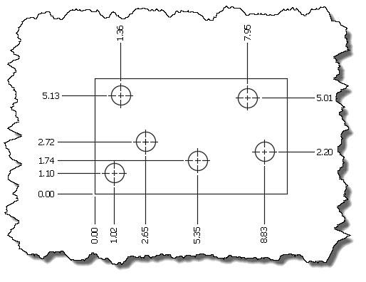 autocad ordinate dimensions - establishing and editing the origin