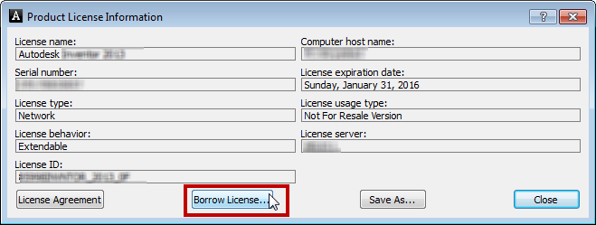 How to borrow a license for the Autodesk software - IMAGINiT