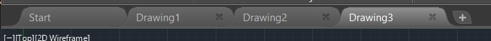 AutoCAD My Tabs Showing File Name at the top of AutoCAD is gone Fig1