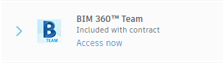 Bim 360 team for hub setup