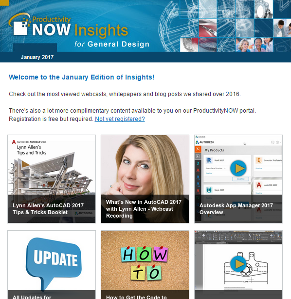 January 2017 ProductivityNOW Insights