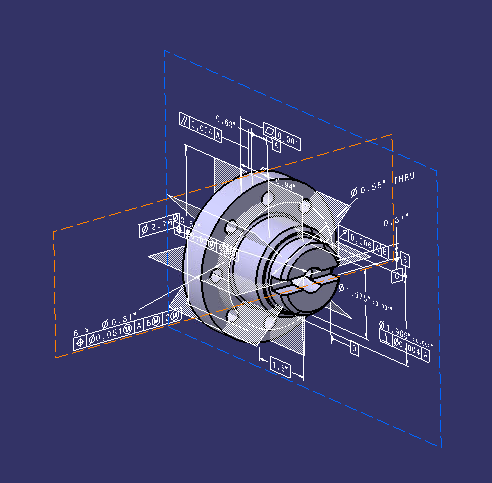CATIA V5: Creating 2D Drawings from 3D Annotations - Rand 3D