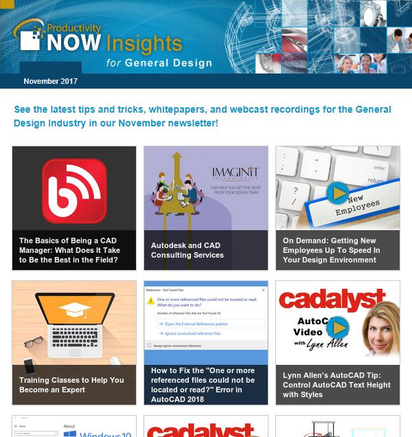 November 2017 ProductivityNOW Insights