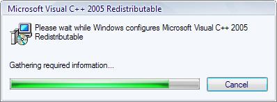 microsoft visual c++ 2005 x64