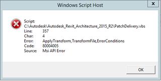 Script Host Error