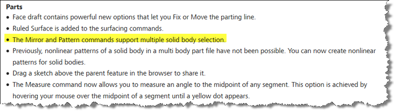 Autodesk Inventor 2016 Whats New Enhanced Mirror Solid Bodies img1