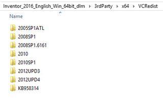 C++ 64bit folders