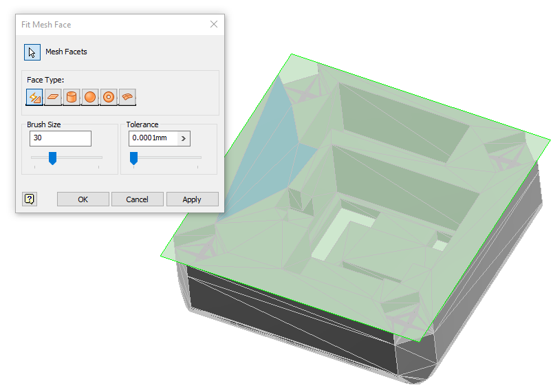 Mesh Geometry in Inventor – Part Modelling - IMAGINiT Manufacturing