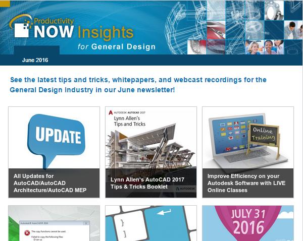 June 2016 ProductivityNOW Insights