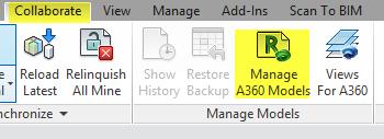 Manage a360 models