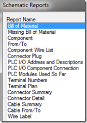 Overview of Reports in AutoCAD Electrical - IMAGINiT Manufacturing ...