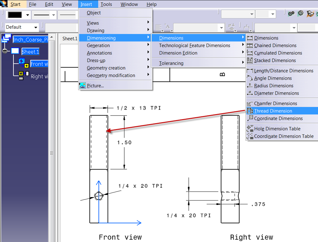 How to setup Thread Standards in CATIA - Rand 3D: Insights from Within