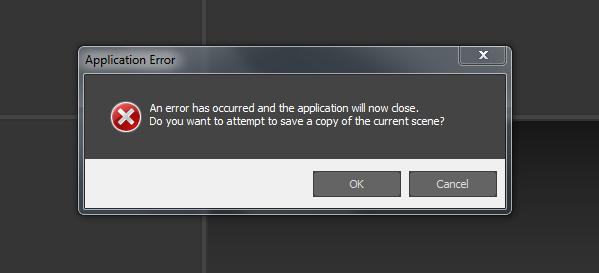 3ds max error