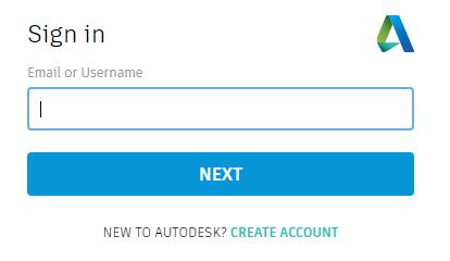Autodesk sign in