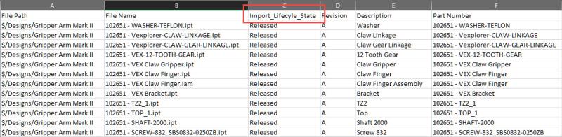 Import Metadata