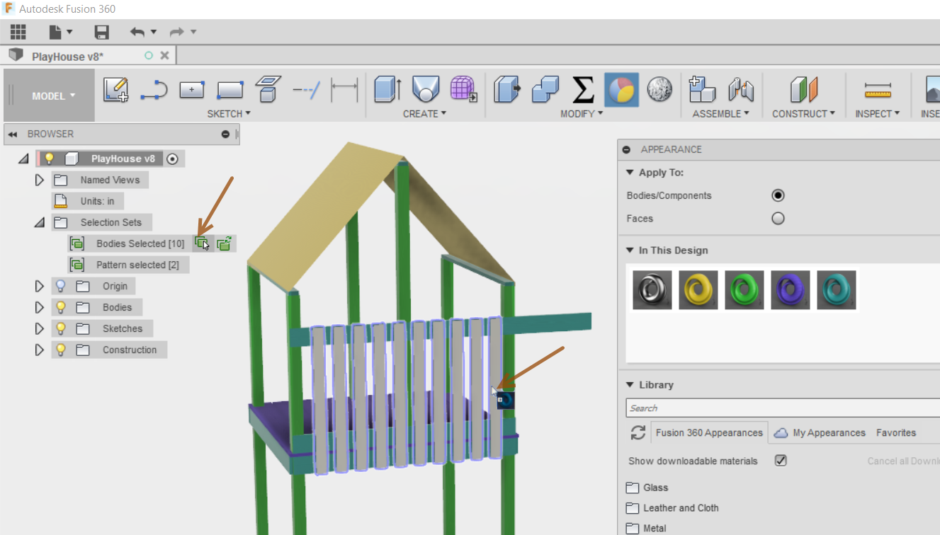 Selection Sets within Fusion 360 - IMAGINiT Manufacturing