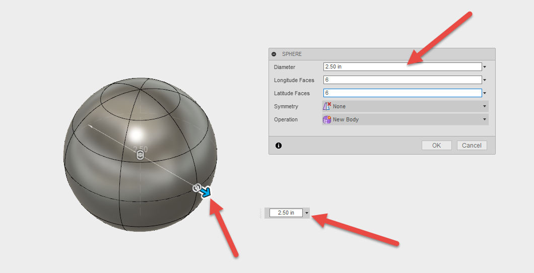 Best practices for sphere creation in Fusion 360 - IMAGINiT