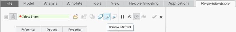 Remove-material
