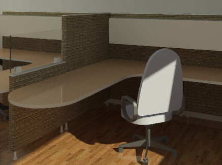 Office system rendered