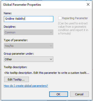 Utilizing Global Parameters for Sheet Grid Visibility